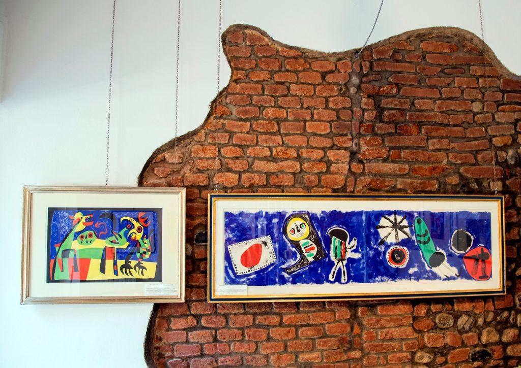 Miró, litografie originali