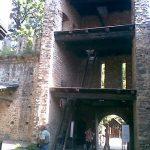 Interno entrata ponte levatoio